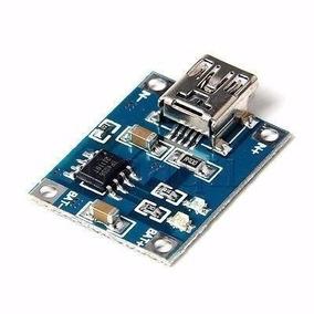 10 Tp4056 Mini Usb Carregador Bateria Litio 1a 5v Lithium