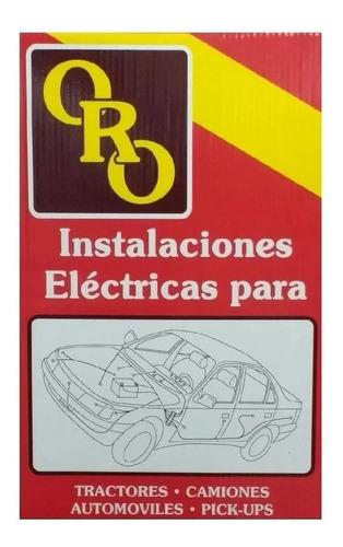 Instalación Eléctrica Oro Renault 18 Naftero 2.0 Hasta 1986