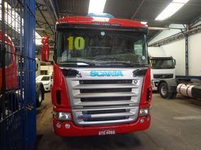 Caminhao Scania G-380 Truck 2009/10 Vermelha Nova