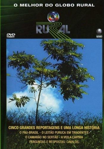 Imagem 1 de 2 de Dvd O Melhor Do Globo Rural 25 Anos - O Pau-brasil, O Leitão