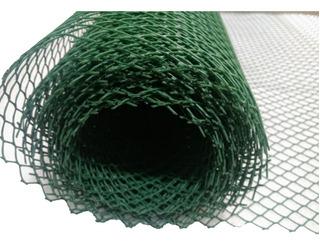 Cerramienrto Tejido Malla Plastico Romboidal Ancho1,20 Verde