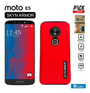 Funda Skyn Armor Moto C E4 G4 G5 Z2 G6 E5 Plus Play +cristal