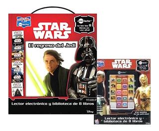 Lector Magico Star Wars Original Disney Tableta + 8 Libros
