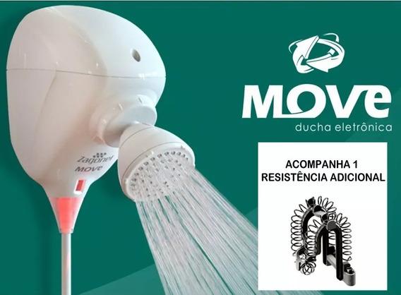 Ducha Move Eletrônica + 1 Resistência Adicional Zagonel 220v