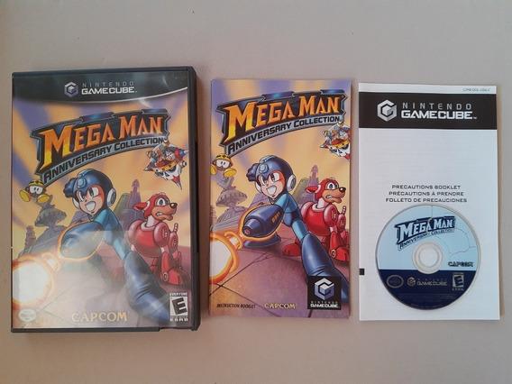 Megaman Anniversary Collection Game Cube Completo!! Raro!!