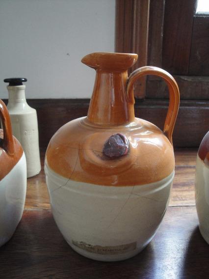Botella De Ceramica De Whisky Antigua
