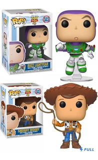 Combo Funko Pop Disney Toy Story Buzz + Woody #522 + #523