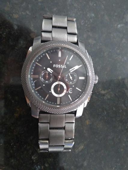 Relógio Fossil Blackout Cronógrafo Fs4662