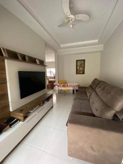 Casa Com 4 Dormitórios À Venda, 112 M² Por R$ 450.000 - Vila Monte Alegre V - Paulínia/sp - Ca1614