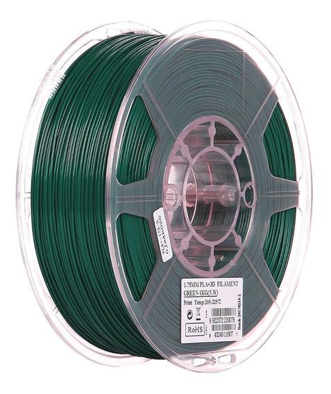 Filamento Esun Pla+ Verde 1.75mm 1kg
