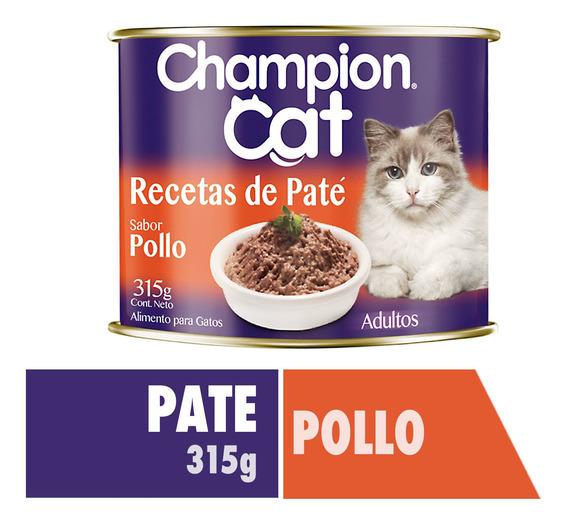 Champion Cat Lata Pollo 24 X 315 G