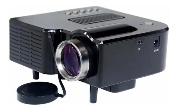 Mini Projetor Portátil 1920x1080 Led Usb/sd/hdmi H80 Uc 28