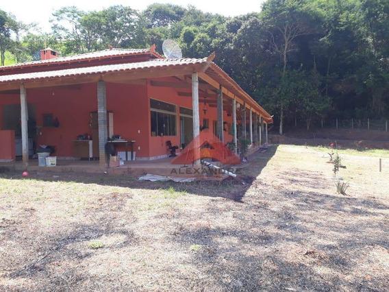 Chácara À Venda, 2000 M² Por R$ 394.000,00 - Zona Rural - Cristina/mg - Ch0068