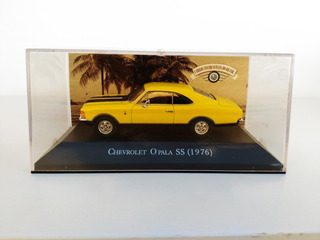 Miniatura Opala Ss 1976 Carros Inesquecíveis Do Brasil 1/43