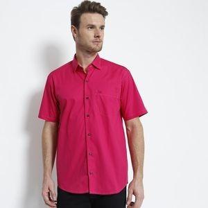Camisa Tradicional Com Bolso. - Pink Ogochi