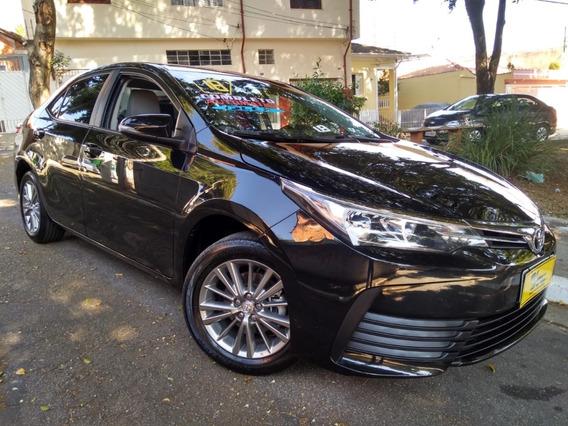 Toyota Corolla Gli Upper Aut 1.8 Flex 2018 Garantia De Fábri