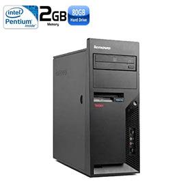 Usado: Pc Lenovo Pentium Dual E2140 2gb Hd 80gb