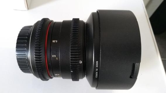 Lente Rokinon Cine 14 Mm 2.8 Canon