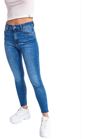 Jean Rise Ashes Tiro Alto Slimfit Elastizado Mujer 47street