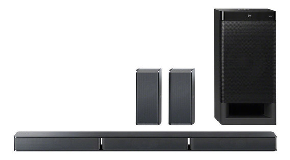 Sony Sistema De Cine En Casa 5.1 Can. Con Bluetooth Ht-rt3