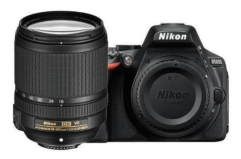 Camera Nikon Dslr D5600 Af-s Com Lente 18-140mm Vr