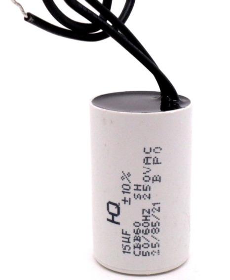 Capacitor Partida 15uf 250vca - Portão Eletrônico