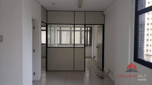 Imagem 1 de 10 de Sala Para Alugar, 45 M² Por R$ 1.400,00/mês - Jardim Aquarius - São José Dos Campos/sp - Sa0343
