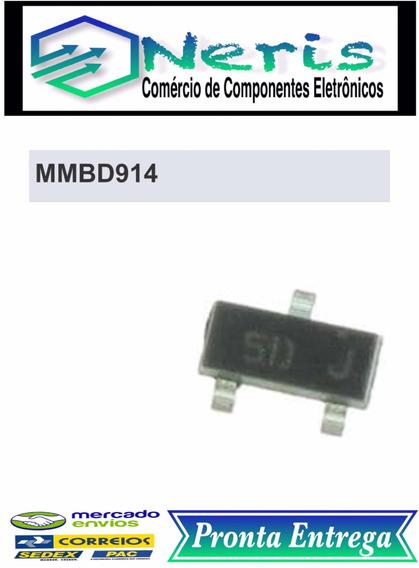 Mmbd914 - Diode Sinal 100v 150ma 350mw Smd Sot23 (01 Pç.)