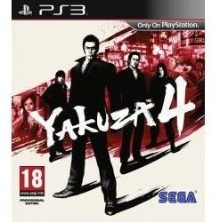 Yakuza 4 Ps3 Nuevo Sellado Envio Gratis