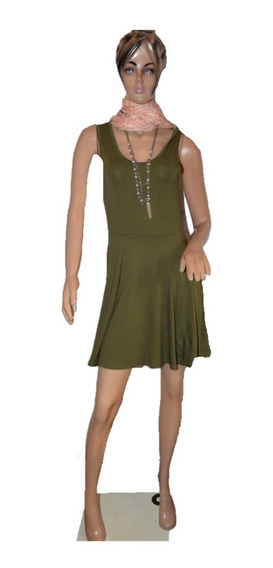 47 Street Vestido Verde Clasico