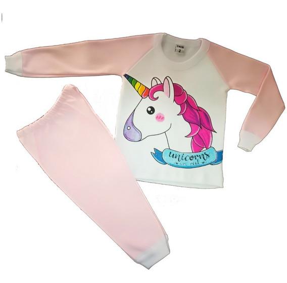Pijama Unicornios Lol Simones Nena Niñas Algodón Hot Sale
