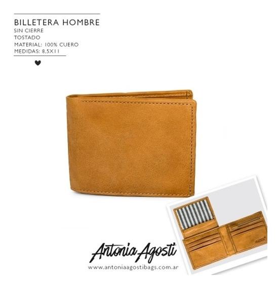 Billetera Antonia Agosti - Hombre