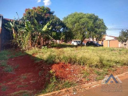 Terreno Jardim Planalto À Venda, 252 M² Por R$ 120.000 - Jardim Planalto - Londrina/pr - Te0562