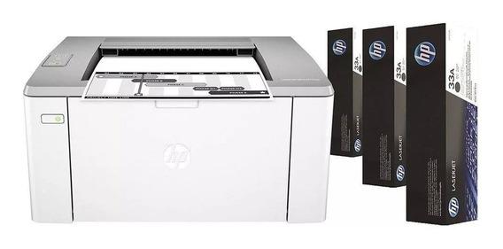 Impressora Wireless Laserjet Ultra 3 Toners Extras
