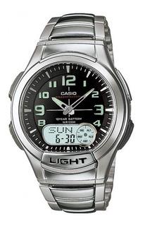 Reloj Casio Hombre Aq-180wd Alarm Sumergible Luz Led Oferta