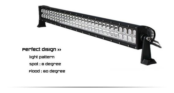 Barra 60 Leds 180w 12 Y 24v 80 Cm 4x4 - Maranello