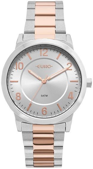 Relógio Feminino Euro Trendy Bicolor Eu2036ylw/5k