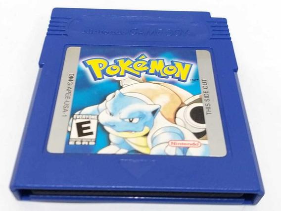 Pokemon Blue Game Boy Original Americano Salvando