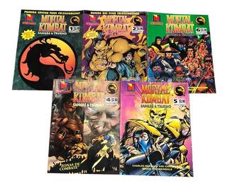 Revista Mortal Kombat Original Numero 4 Sangre Y Trueno