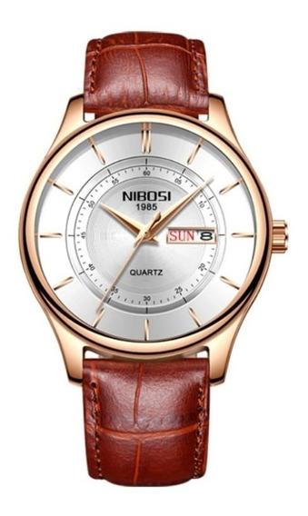 Relógio Masculino Nibosi Promoção Oferta Original