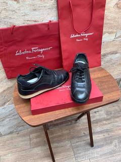 Sneakers Salvatore Ferragamo Color Negro