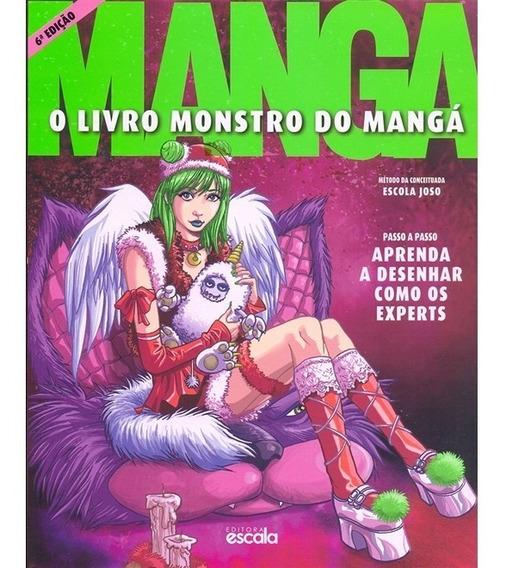 Livro Monstro Do Mangá - Aprenda A Desenhar