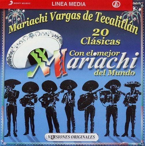 Mariachi Vargas De Tecalitlan 20 Clasicas Con Cd