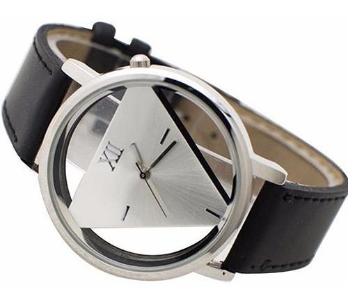 Relógio Masculino Barato, Triangulo Presente Criativo Oferta