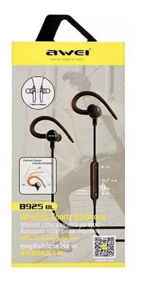 Fone Bluetooth Intra Auricular Awei B925bl