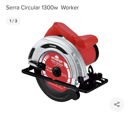 Serra Circular Worker Nova