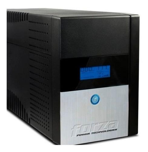 Ups Forza Regulador Voltaje 1500va 840w 4 Tomas Fx-1500lcd-c