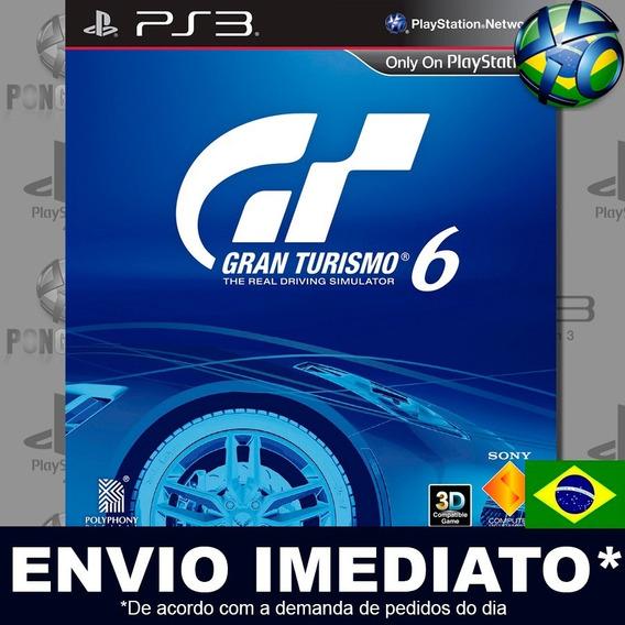 Gran Turismo 6 Ps3 Digital Psn Dublado Português Pt Br Jogo Em Promoção