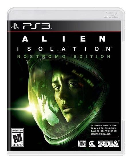 Alien Isolation - Ps3 - Original - Novo