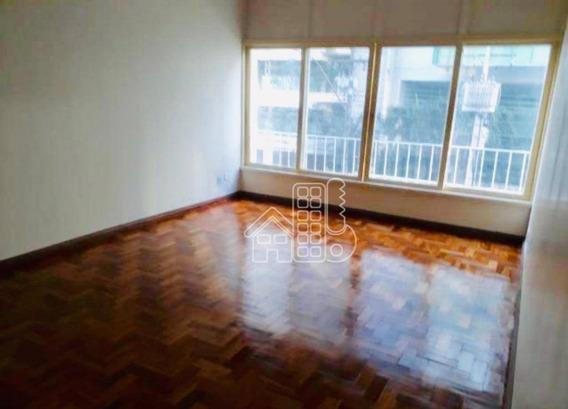Apartamento Com 4 Dormitórios Para Alugar, 113 M² Por R$ 2.100,00/mês - Ingá - Niterói/rj - Ap2911
